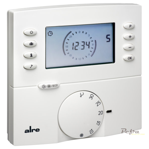 funk raum thermostat f r fu bodenheizung heizung digital ap alre ftrfbu ebay. Black Bedroom Furniture Sets. Home Design Ideas
