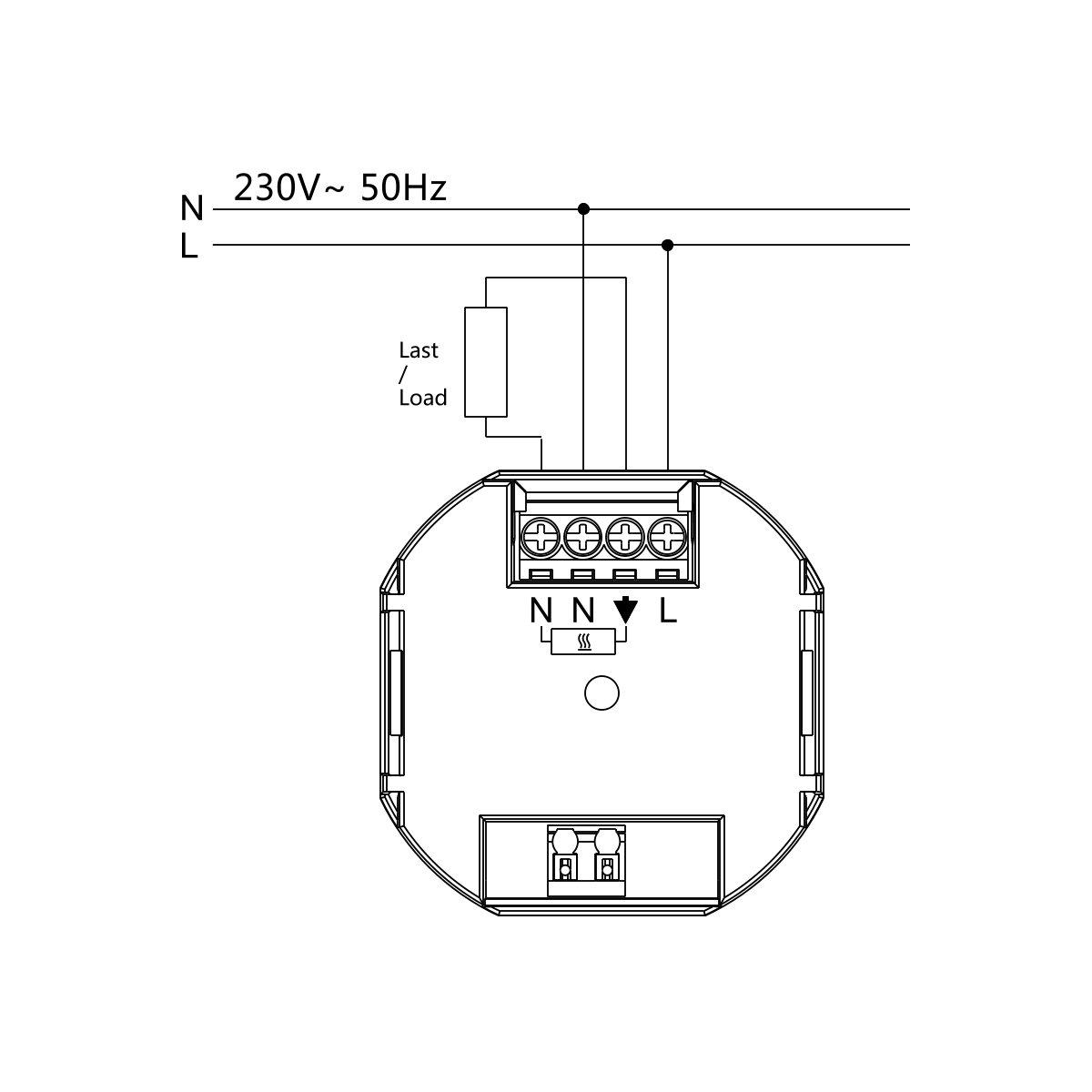 Berker S.1 1-fach Rahmen 10118989 in polarwei/ß glanz f/ür Fu/ßbodenheizung Stellantriebe 230V stromlos geschlossen Halmburger digital Raumthermostat ERD55rg mit gro/ßem Display inkl NC